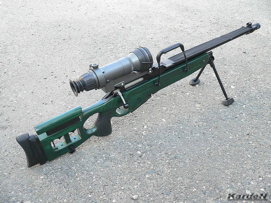 62 мм снайперская винтовка св 98 потом