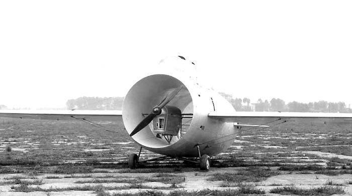 Stipa-Caproni: one of the most unusual aircraft