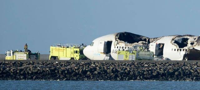Piloto caiu em San Francisco Boeing cego por laser