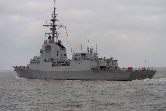 Navantia intensificou esforços para vender fragatas F-100 à Marinha Turca