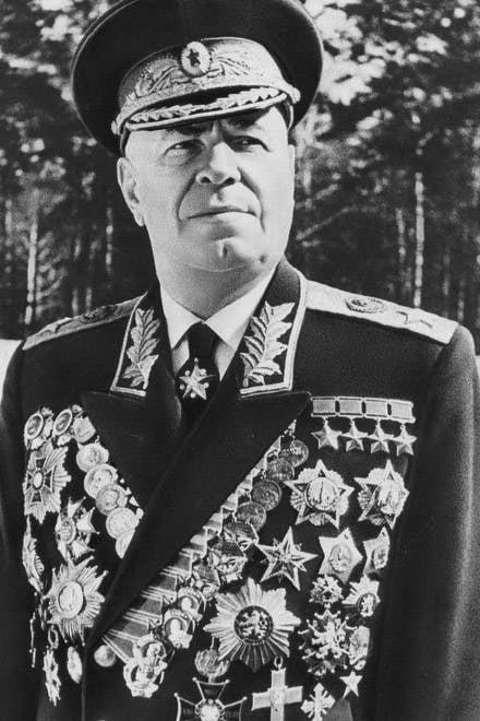 Mareşal Zhukov'un dördüncü yıldızı