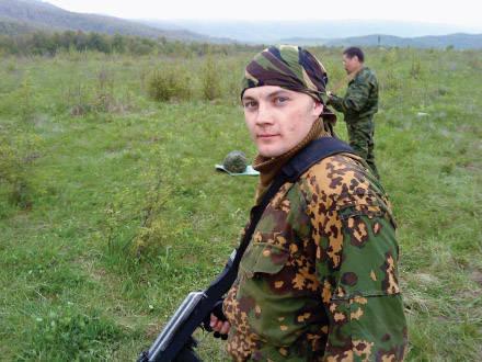 战争和爱情侦察Vorobiev