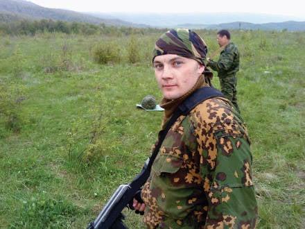 Savaş ve aşk izci Vorobiev