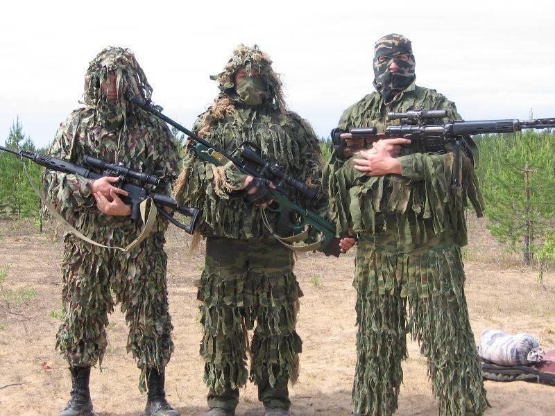 Sniper fire in local wars