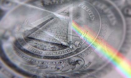 アメリカの諜報機関と銀行の上限の下にある世界