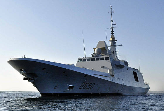 """DCNS completed the third stage of the sea tests of the multipurpose frigate FREMM """"Mohammed VI"""""""