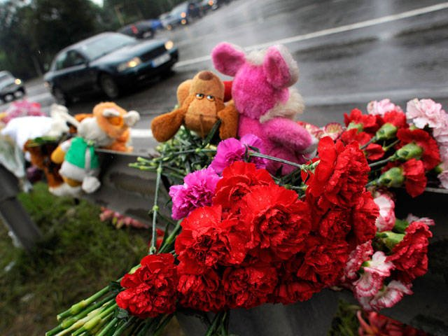 Mourning declared for those killed in the accident near Podolsk