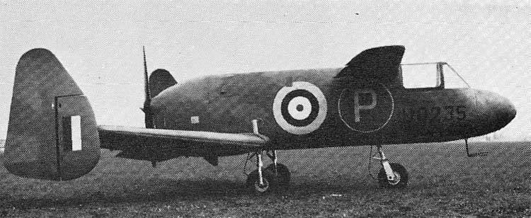 प्रायोगिक डेक फाइटर M.35 लिबेलुला