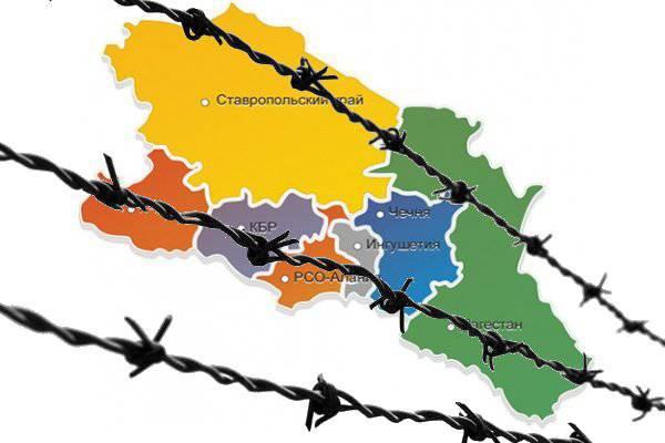 Un muro con filo spinato per il Caucaso settentrionale?
