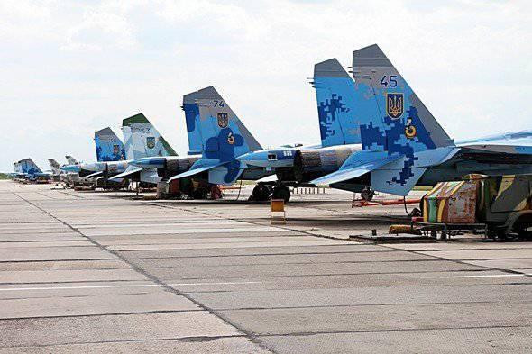 우크라이나의 공군 831 여단을 근거로 한 비행 방법론 수집 사진보고