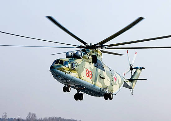 Until the end of summer, the Western Military District will receive Mi-28H and Mi-26 helicopters.