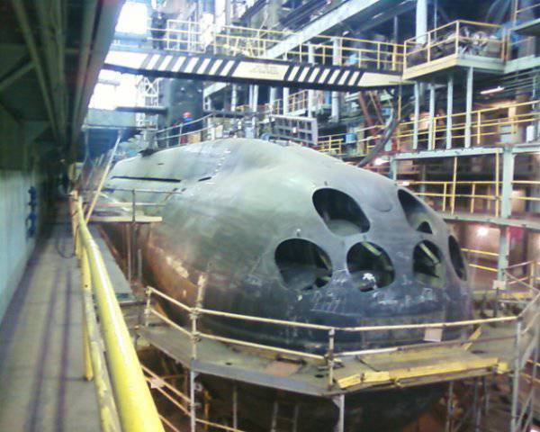 "The contract for the resumption of the construction of the submarine ""Kronstadt"""