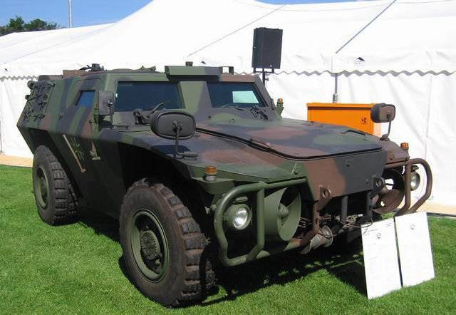 "Panzerspähwagen ""Zobel"" (Lightly armored reconnaissance vehicle Sable)"