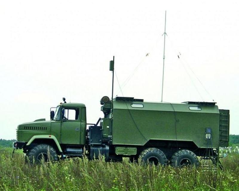 Inteligencia electrónica de las fuerzas armadas de Ucrania.
