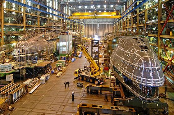 Der Kiel des U-Bootes der sechsten Estiut-Klasse wurde auf der Werft in Barrow-in-Furness gelegt
