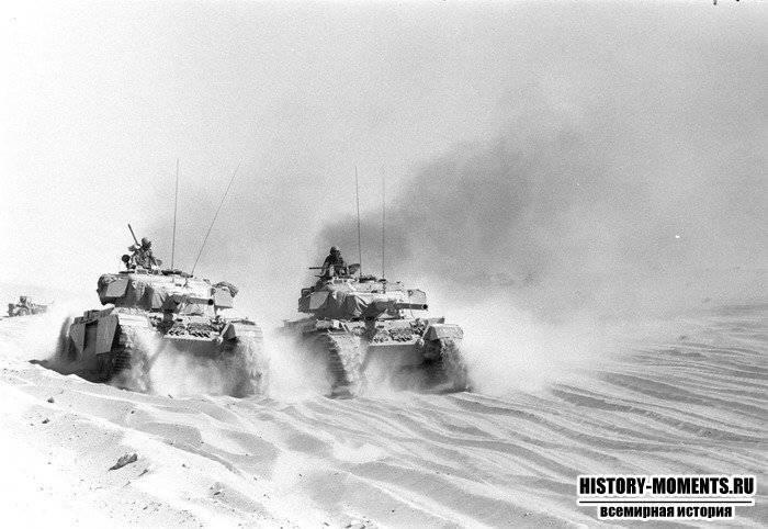 """Война """"Судного дня"""" как последнее танковое сражение 20 века"""