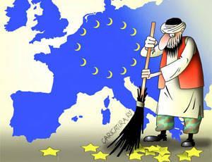 Europa verdunkelt