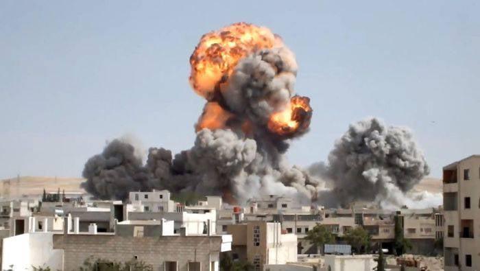 El ejército estadounidense desarrolló un plan para atacar a cientos de objetivos en Siria