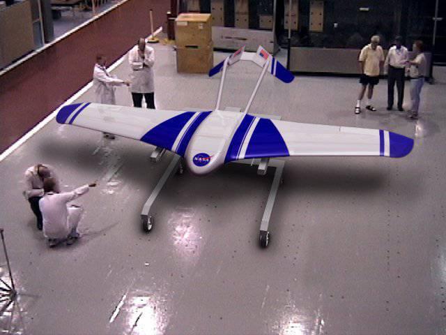 Марс будут изучать с помощью самолета-робота.