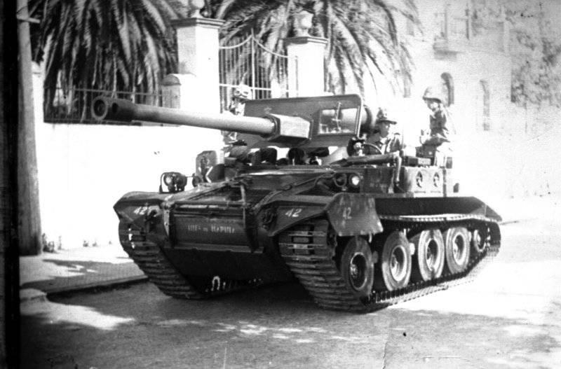 Kendinden itmeli tanksavar silahı M56 Scorpion
