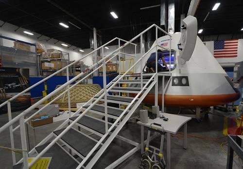 Boeing CST-100 Navio Tripulado: Vista Interna