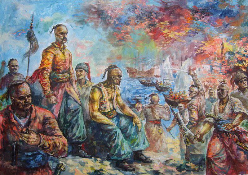 Азовское  сидение и переход донского войска на московскую службу