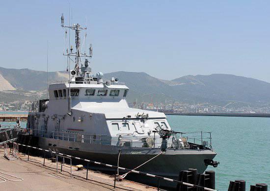 Rus Donanması için yılın 28.07.2013'i için üretilen gemiler. 1'in bir parçası