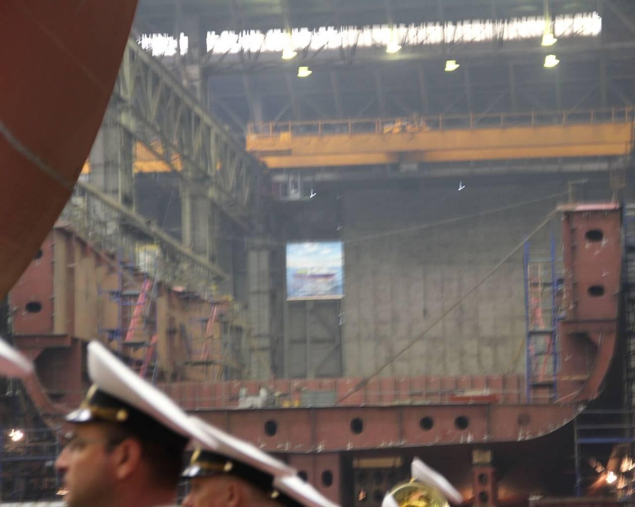 Строящиеся и принятые корабли для вмф