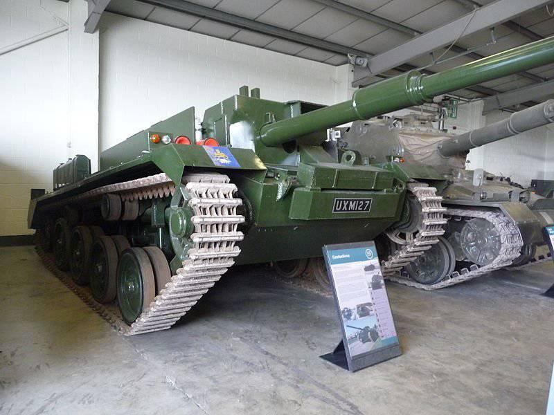 "Destruidor de tanque ""Controverso"" FV4401"