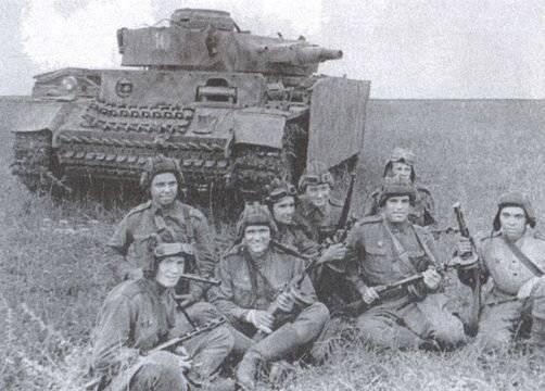 Batalha por Donbass. Mius-Front Breakthrough