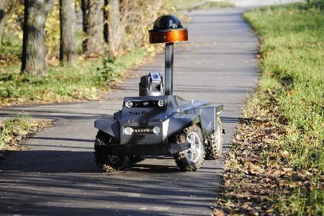 "Production of robot patrol ""Tral Patrol"" began in Russia"