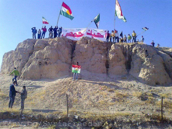 叙利亚冲突 - 建立库尔德国家的道路?