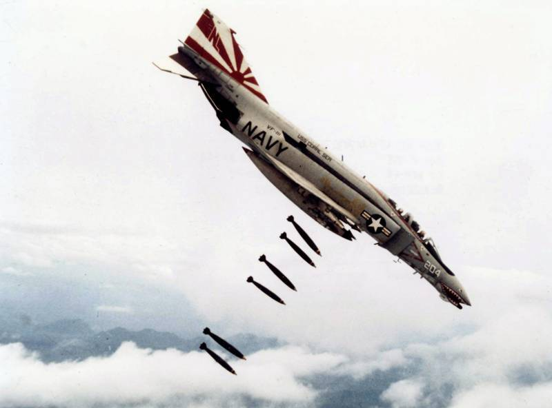 F-4 Phantom. Veteran still plowing the sky