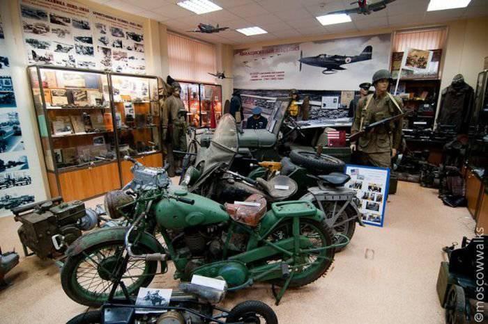モスクワの貸リース軍事博物館