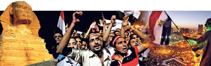 Egito: caos, confusão, confusão