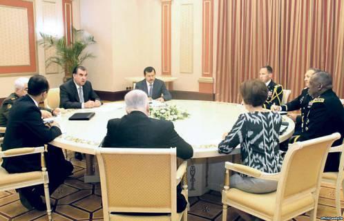 Gli Stati Uniti modernizzano l'esercito del Tagikistan