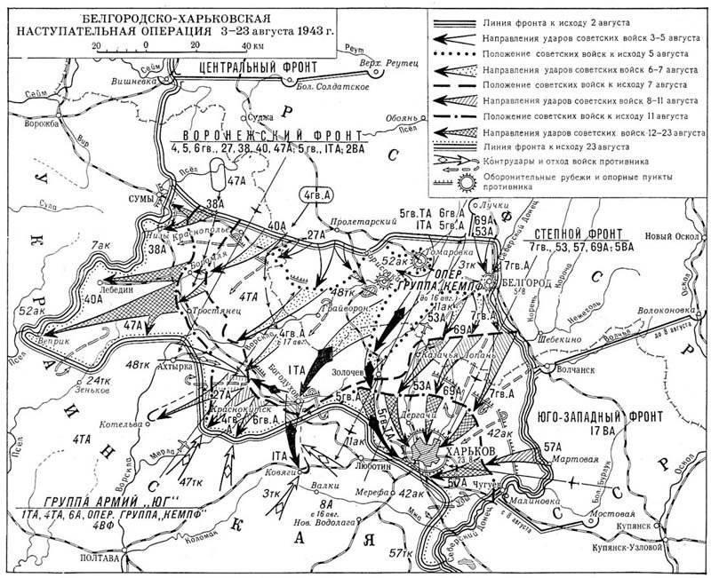 Die große Schlacht von Kursk: Operation Rumyantsev