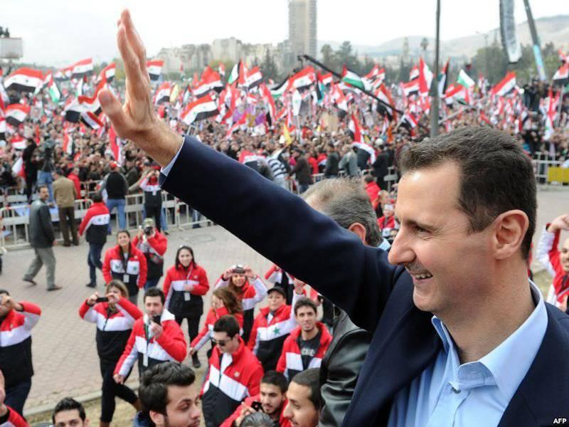 Geopolitisches Mosaik: Bashar Asad eröffnete die Front des ideologischen Kampfes, und das Pentagon verlor das Vertrauen, dass die USA im Irak und in Afghanistan kämpften