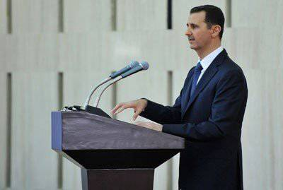"Bashar al-Assad: ""There is no other way than terror against the iron fist"""