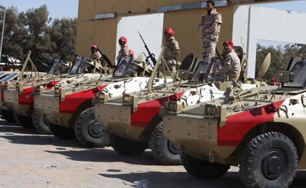 Les troupes sont entrées dans la capitale libyenne pour assurer l'ordre public