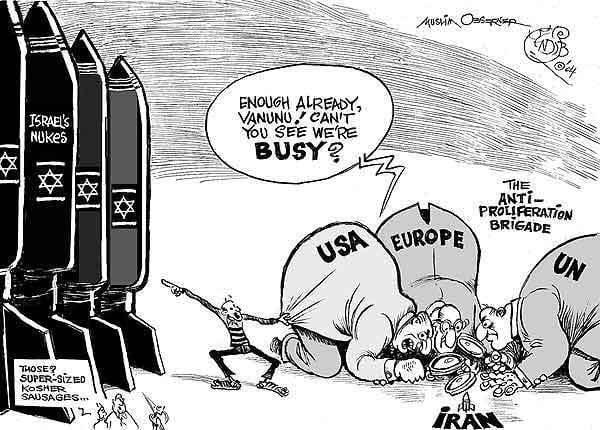 El átomo pacífico de Hassan Rouhani.