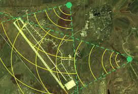 Elektronische Kriegsführung mit potenziellen Bedrohungen