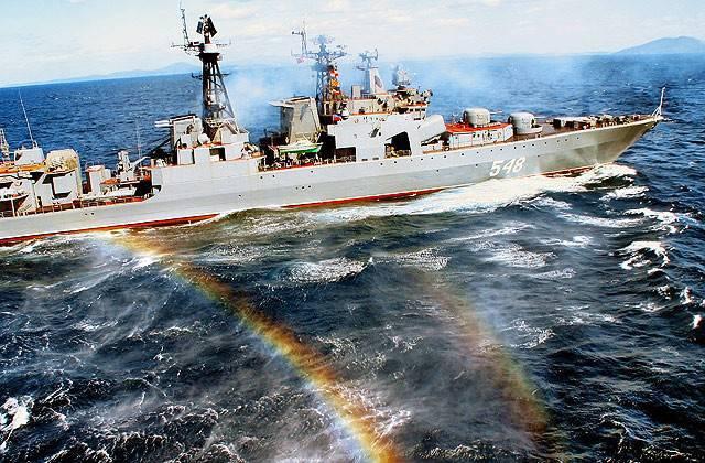 Flota del Pacífico de Rusia: la quinta más poderosa del Pacífico