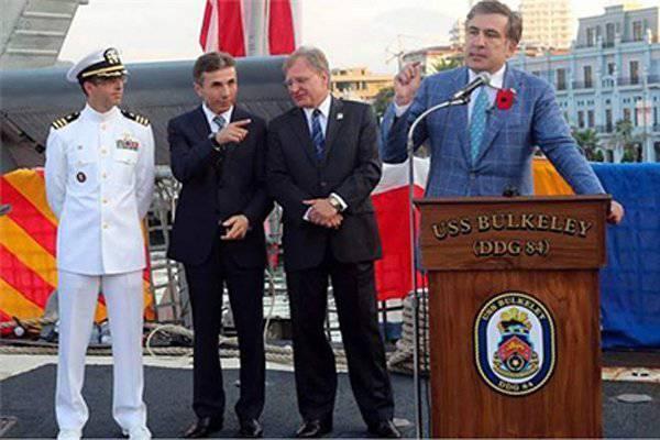 Saakashvili acusado de traição