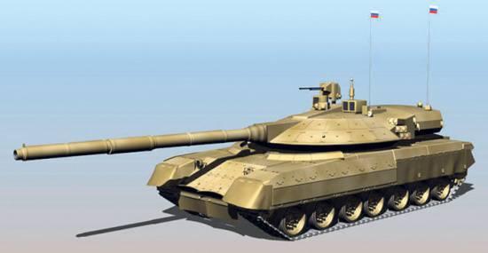 """""""Armata"""" - 原型战斗装甲变压器"""