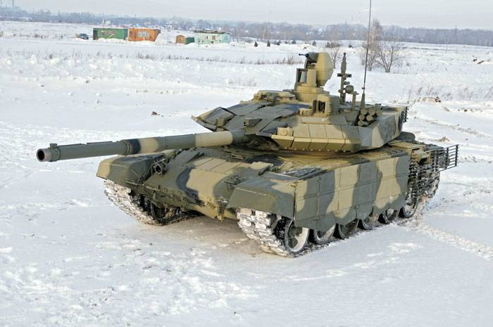 The most belligerent tank T-72: lessons of the defense project