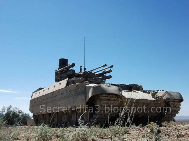 Les forces armées algériennes testent un véhicule de combat russe