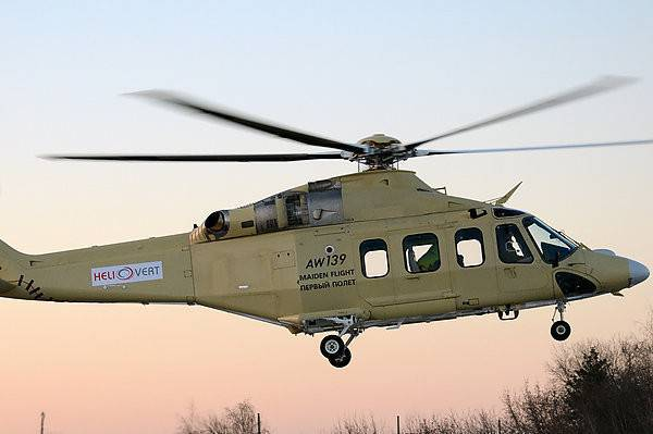 Italy and Russia will develop a new lightweight helicopter