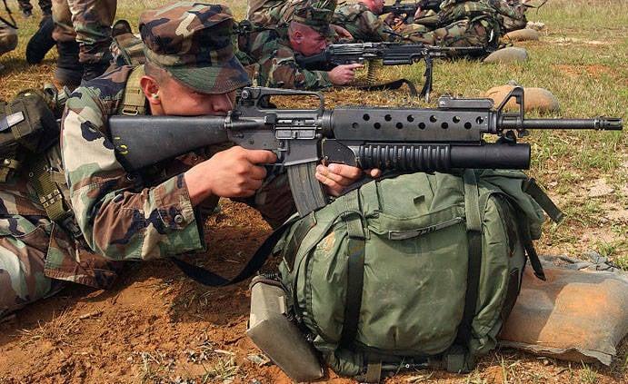 M203 Granatwerfer