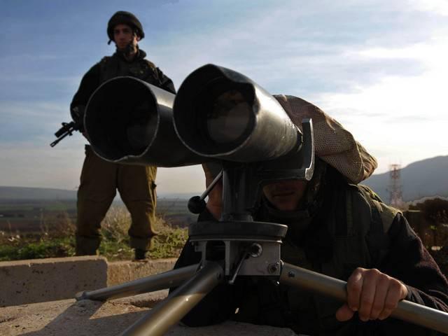 以色列国防军袭击了叙利亚境内